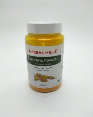 Turmeric Powder 100 Herbal Hills