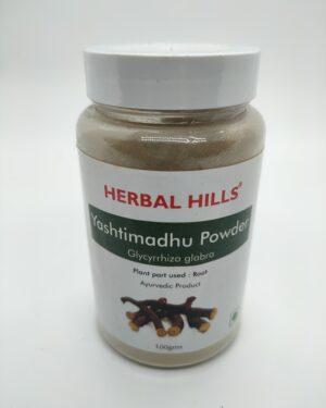 Yashtimadhu Powder 100G  Herbal Hills